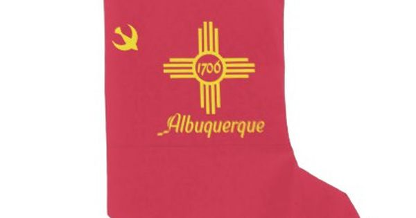 Flag Of Albuquerque New Mexico Small Christmas Stocking Home Gifts Ideas D Christmas Stockings Personalized Christmas Stockings Diy Small Christmas Stockings