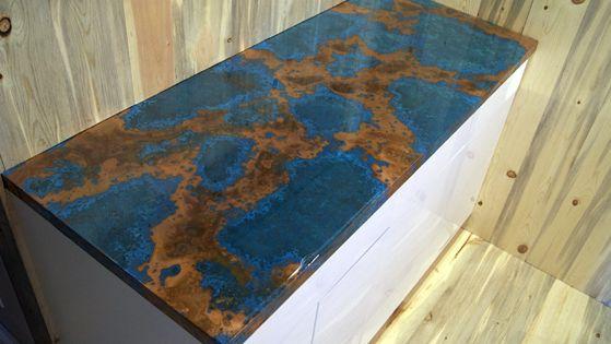 Copper Granite Countertops Copper Countertop Amp Copper