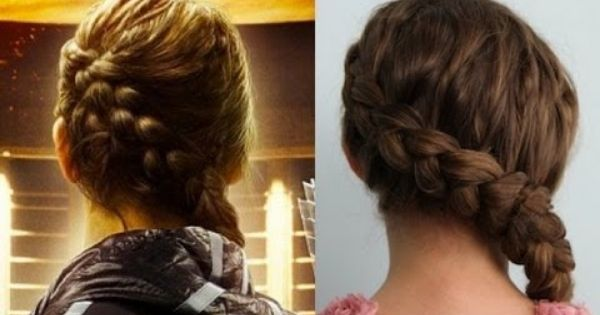 Here is the 100% authentic Katniss Everdeen Braid tutorial, as taught to