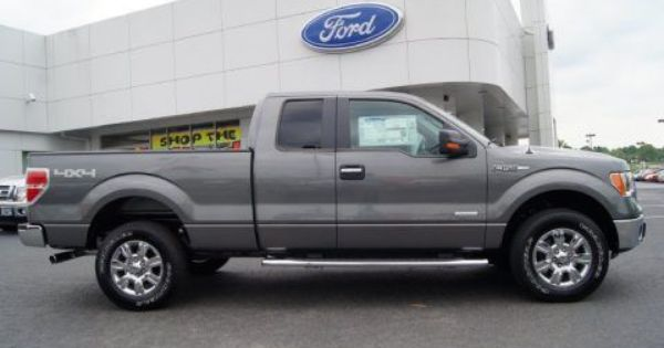 Buy My Dream Truck Sterling Gray Metallic 2012 Ford F150 Xlt Supercab 4x4 Ford F150 Xlt 2012 Ford F150 F150