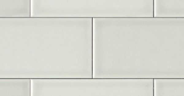 Grey Matte Subway Tile This Would Work Above Perimeter