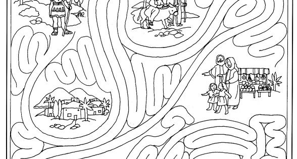 matthew 8 coloring pages - photo#24