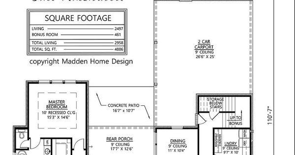madden home design the nashville house plans