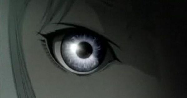 anime girl silver eyes