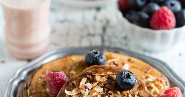 Coconut, Toasted coconut and Berries on Pinterest