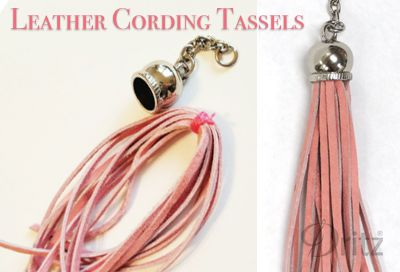 Inspiration Tassel Making Ideas Leather Cord Jewelry Leather