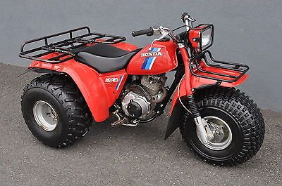 1984 Honda Atc 200es Big Red Three Wheeler Clean Rare Original Exclusive Deal Buy Now Only 2225 0 Honda Sand Rail Dune Buggy