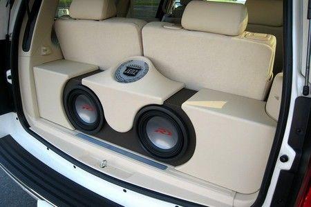 Speaker Systems Set Up For Cars Strengthen The Higher