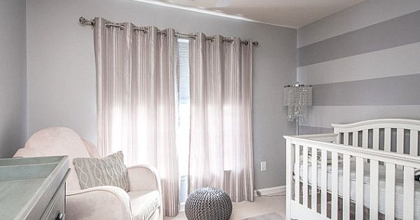 Tips for decorating a small nursery stripe walls nursery ideas and striped walls - Baby nursery ideas for small spaces style ...