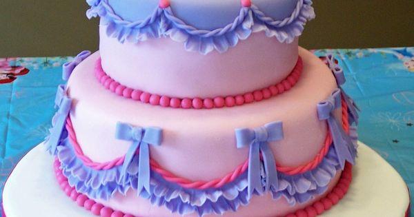 DIL said to design Lily s cake around the Disney princess ...