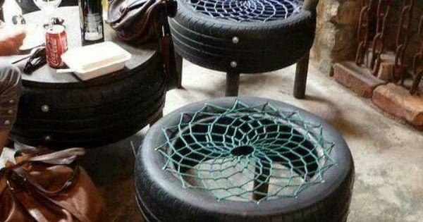 autoreifen weiterverwerten upcycling pinterest autoreifen holzofen und werkstatt. Black Bedroom Furniture Sets. Home Design Ideas