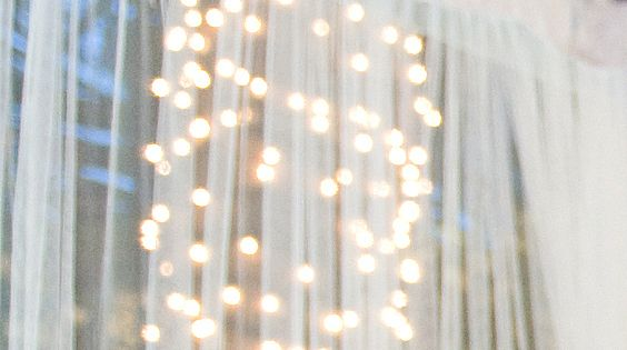 Use sheer curtains and possibly battery operated or solar for Battery operated lights for craft booth