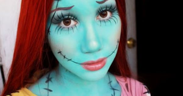 COOL COSTUME IDEA ...Makeup by MAK: Sally (Nightmare Before Christmas) Makeup Look