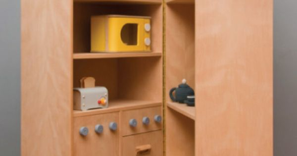 great play kitchen- copy folding idea for doll house