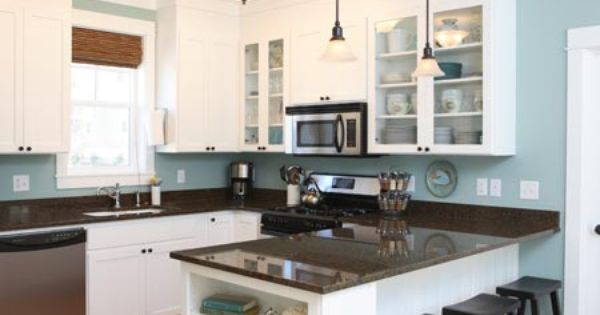 Beach kitchen colors  인테리어  Pinterest  인테리어