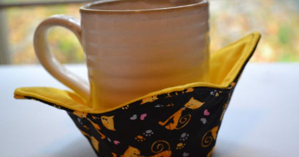 fabric bowls microwave bowl cozy microwave mug cozy microwave pot holders microwave bowl. Black Bedroom Furniture Sets. Home Design Ideas