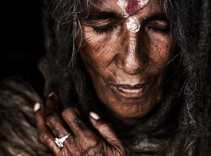 Sadhu Woman, Kathmandu, Nepal