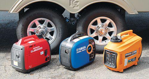 Portable power camping life magazine evaluation of for Yamaha inverter generator vs honda