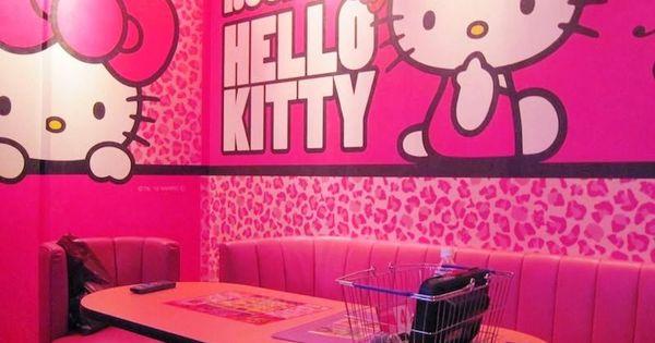 wallpaper dinding ruang tamu hello kitty desain minimalis pinterest kitty wallpapers and