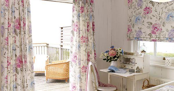 Achillea summer curtains roman blind hillarys for Summer house blinds