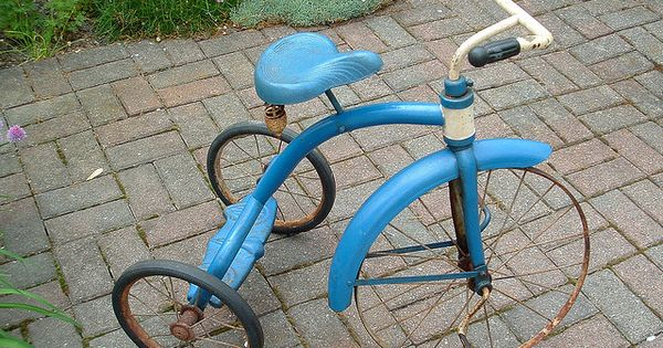 Amf Junior Tricycle Replacement Parts : Vintage s amf junior tricycle childhood