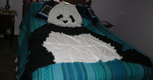 Panda Bear Rag Quilt Simplicity Pattern 3955 Quilts