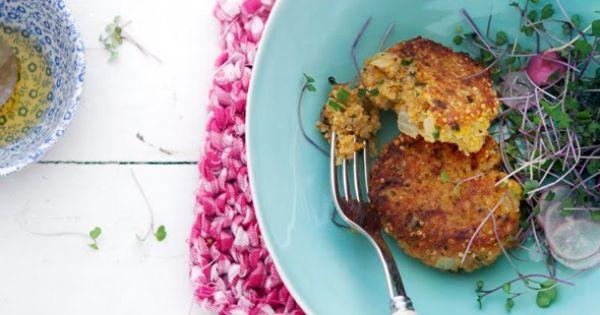 #Food: Quinoa and sweet potato cakes | Recipe via @CannelleVanille