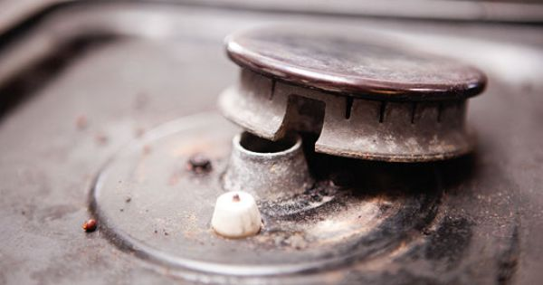 Keep a gas stove clean gas stove cleaning gas stove and stove - Clean gas range keep looking new ...