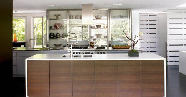Modern kitchen design photos modern kitchen ideas elle for Kitchen ideas elle