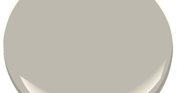 Benjamin moore thunder warm neutral soft gray 89 4 for Thunder grey benjamin moore