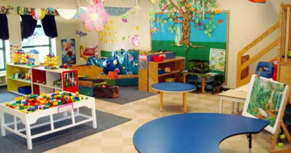 Modern Kindergarten Classroom Design : Very light tan wall nice look modern kindergarten