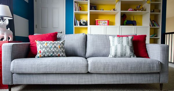 How To Change The Legs On An Ikea Karlstad Sofa Diy Home