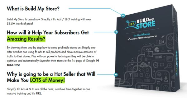 Build My Store Ecomm Training By Devid Farah Best Ecommerce Training Course To Build Powerful Profitable Shopify Fb Ads Internet Marketing Facebook Marketing