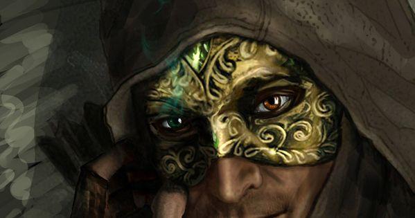 Garrett In Mask By Anawind On DeviantArt