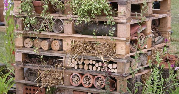 The Bug Hotel (the article provides a few links to how-to PDF's)