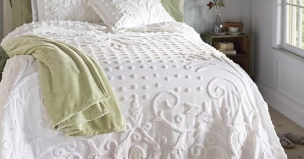 California King Size Chenille Bedspreads Bedroom