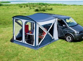 Awning For Van Camper Google Search Van Tent Truck Campers For Sale Minivan Camping