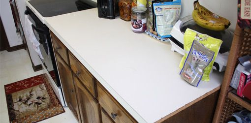 How To Apply Cement Backer Board To A Plastic Laminate Countertop