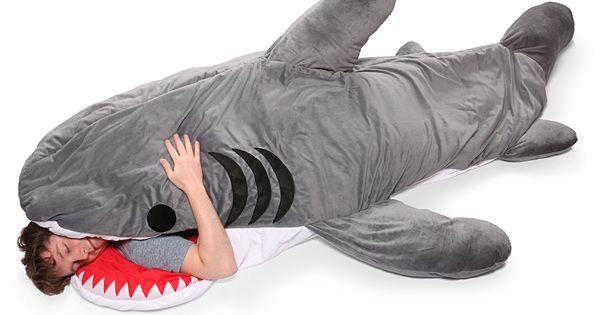 Chumbuddy Sleeping Bag. I miss Shark Week already.