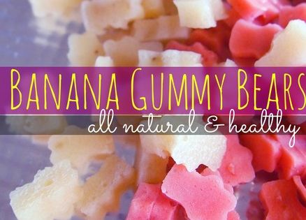Banana Gummy Bears: Everyday products you can make instead of buying at