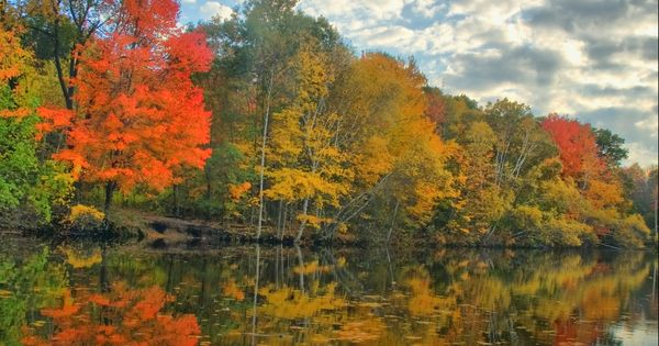 Autumn - Old Ice Pond in South Portland, Maine   I love ...