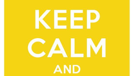 KeepCalm!