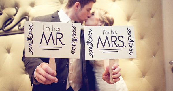 """I'm her MR.... I'm his MRS.... "" Photography by emilygphotography..."