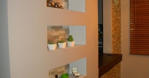 Gypsum board facias tv units nichos decorativos paredes for Decoracion del hogar en puerto rico