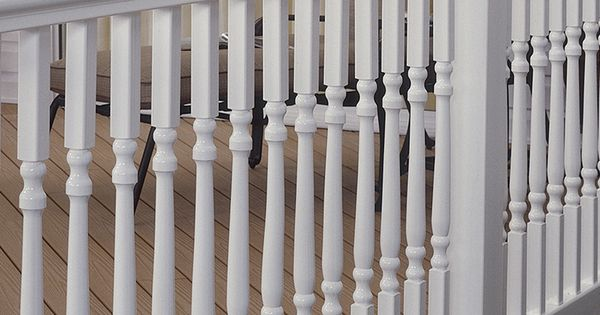 Best Fiberon Homeselect Composite Deck Baluster Actual 1 25 400 x 300