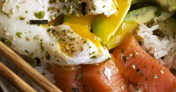 Salmon Sashimi Rice Bowl   Set the Table