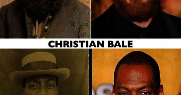 Pretty sure the Christian Bale old photo is Rasputin!
