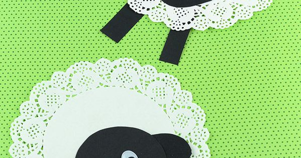 doily sheep craft doily sheep craft sheep crafts easy and craft 1884