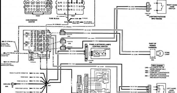 Gmc Wiring Harness Diagram Blog Chevy Trucks Electrical Wiring