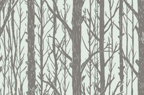 Blik Wall Decals: Trees ~ Pattern Wall Tiles